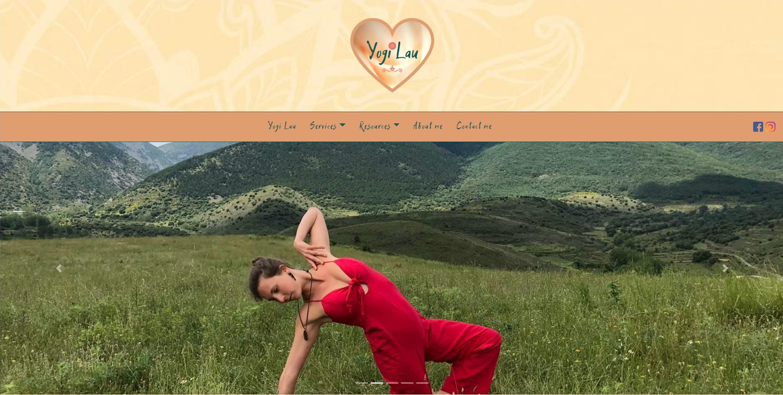 Yogi Lau estrena página web