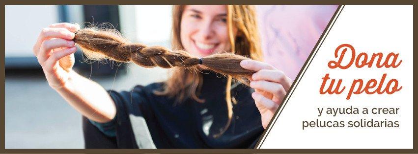 Ayuda a crear pelucas solidarias